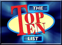 David Letterman Top Ten List